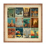 Anderson Design Group New York City Multi Image Print Square Tray