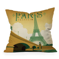 Anderson Design Group Paris Throw Pillow