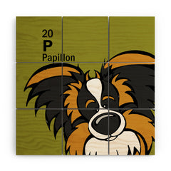 Angry Squirrel Studio Papillon 20 Wood Wall Mural