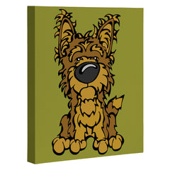 Angry Squirrel Studio Yorkshire Terrier 38 Art Canvas