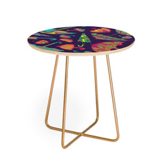 Arcturus April Showers Umbrellas Round Side Table