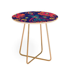 Arcturus Cloud Tie Deep Ocean Round Side Table