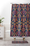 Arcturus Glamourous Shower Curtain And Mat