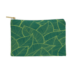 Arcturus Lime Green Leaves Pouch
