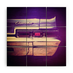 Ballack Art House 1966 Chev Wood Wall Mural