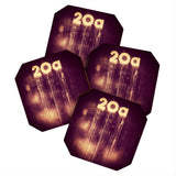 Ballack Art House 20 A House Coaster Set