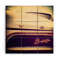 Ballack Art House Volvo Vintage Wood Wall Mural