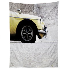 Ballack Art House Yellow Tapestry