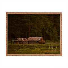 Barbara Sherman Peaceful Ranch Rectangular Tray