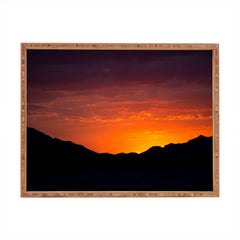 Barbara Sherman Sunset Glory Rectangular Tray