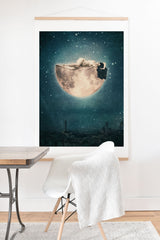 Belle13 Moon Dream Art Print And Hanger