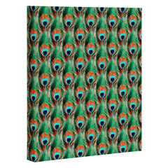 Belle13 Peacock Eye Pattern Art Canvas