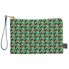 Belle13 Peacock Eye Pattern Pouch