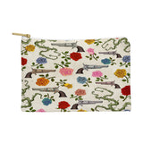 Belle13 Sweet Guns And Roses Pouch