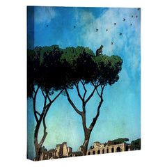 Belle13 The Cat King Of Rome Art Canvas