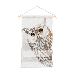 Belle13 The Intellectual Owl Wall Hanging Portrait