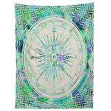 Bianca Green Follow Your Own Path Mint Tapestry