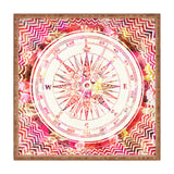 Bianca Green Follow Your Own Path Pink Square Tray