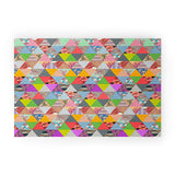 Bianca Green Lost In Pyramid Welcome Mat