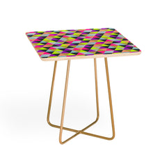 Bianca Green Ocean Of Pyramid Side Table