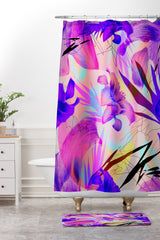 Biljana Kroll Tropical Tango Shower Curtain And Mat
