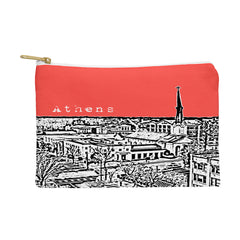 Bird Ave Athens Red Pouch
