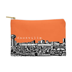 Bird Ave Knoxville Orange Pouch