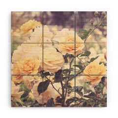 Bree Madden Sunshine Bloom Wood Wall Mural