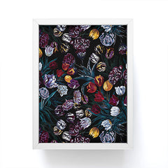 Burcu Korkmazyurek EXOTIC GARDEN NIGHT XIV Framed Mini Art Print