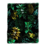 Burcu Korkmazyurek TROPICAL GARDEN VIII Throw Blanket
