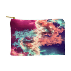 Caleb Troy Yin Yang Painted Clouds Pouch