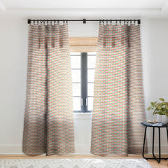 Camilla Foss Swirl Sheer Window Curtain