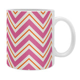 Caroline Okun Berry Pop Chevron Coffee Mug