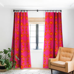 Caroline Okun Bold Chickory Blackout Window Curtain