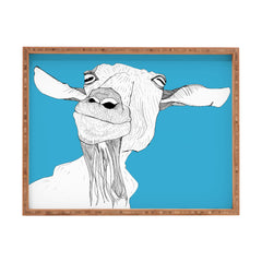 Casey Rogers Goat Rectangular Tray