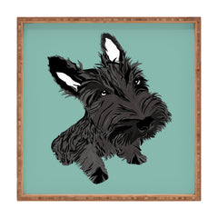 Casey Rogers Scottie Square Tray