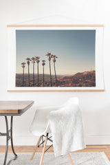 Catherine McDonald Hollywood Hills Art Print And Hanger