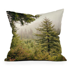 Catherine McDonald Into The Mist Throw Pillow