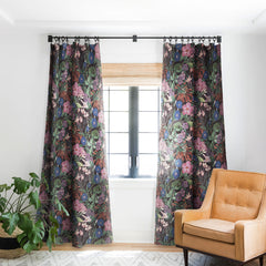 CayenaBlanca Floral Symphony Blackout Window Curtain