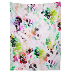 CayenaBlanca Romantic Flowers Tapestry
