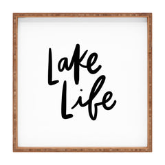 Chelcey Tate Lake Life Square Tray