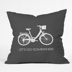 Chelsea Victoria lets go somewhere Outdoor Throw Pillow