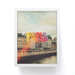 Chelsea Victoria Paris For A Day Framed Mini Art Print
