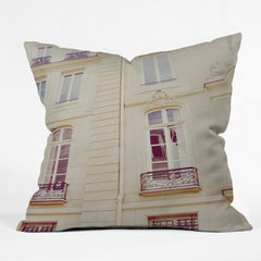 Chelsea Victoria Paris Windows Outdoor Throw Pillow