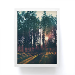 Chelsea Victoria Sun and Trees Framed Mini Art Print