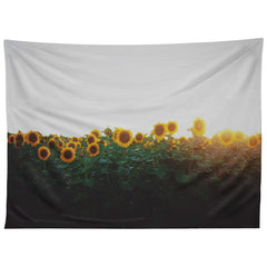 Chelsea Victoria Sunflower Fields Tapestry