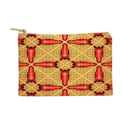 Chobopop Horse Pattern Red Pouch