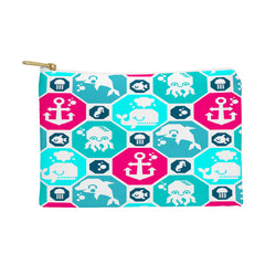 Chobopop Marine Pattern Pouch