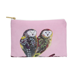 Clara Nilles Chocolate Mint Chip Owls Pouch