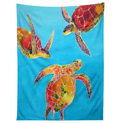 Clara Nilles Tie Dye Sea Turtles Tapestry